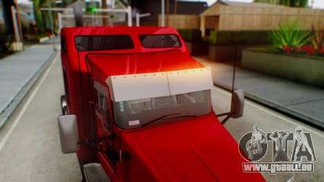 Kenworth T600 Aerocab 72 Sleeper für GTA San Andreas Motor