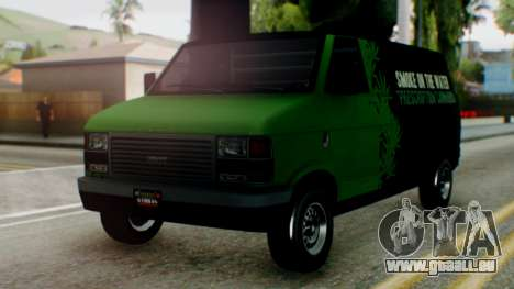 GTA 5 Brute Pony Smoke on the Water für GTA San Andreas