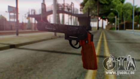 GTA 5 Bodyguard Revolver pour GTA San Andreas deuxième écran