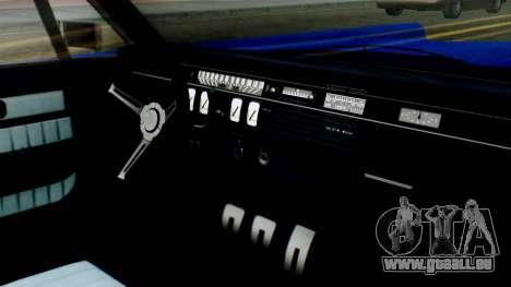 GTA 5 Vapid Chino Tunable IVF für GTA San Andreas Rückansicht
