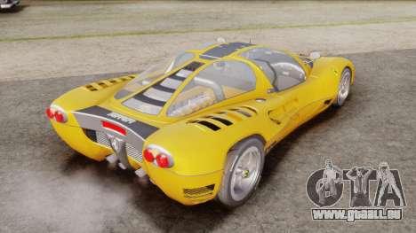Ferrari P7 Normal pour GTA San Andreas laissé vue