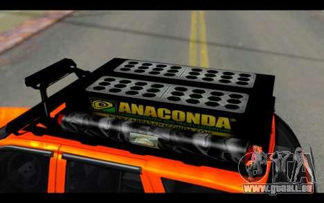 Chevrolet Traiblazer Off-Road pour GTA San Andreas vue de côté