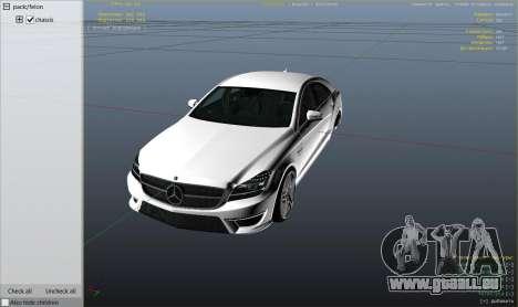 GTA 5 Roue Mercedes-Benz CLS 6.3 AMG 1.1