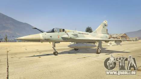 Dassault Mirage 2000-C FAB pour GTA 5