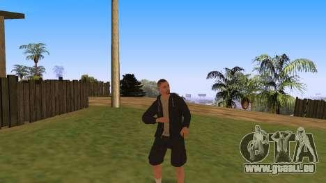 Time Animation pour GTA San Andreas deuxième écran