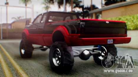 GTA 5 Vapid Sandking SWB IVF pour GTA San Andreas laissé vue