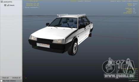 GTA 5 Roue VAZ 21099 v3