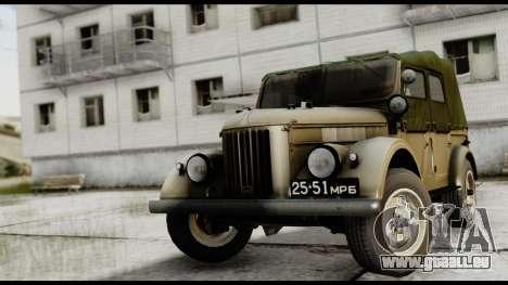 GAZ-69A FIV pour GTA San Andreas