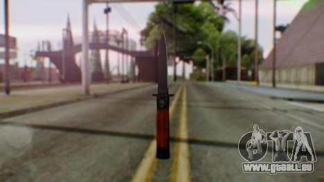 GTA 5 Bodyguard Switchblade pour GTA San Andreas deuxième écran