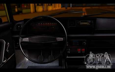 Zastava 125PZ Taxi pour GTA San Andreas sur la vue arrière gauche