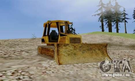 New Dozer pour GTA San Andreas