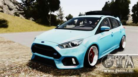 Ford Focus RS 2017 Camber pour GTA 4
