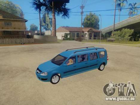 Lada Largus 7-door pour GTA San Andreas