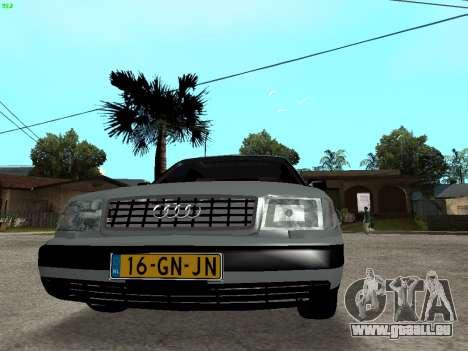 Audi 100 C4 1992 für GTA San Andreas Rückansicht