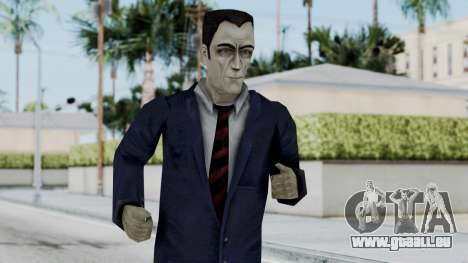 GMAN v2 from Half Life pour GTA San Andreas