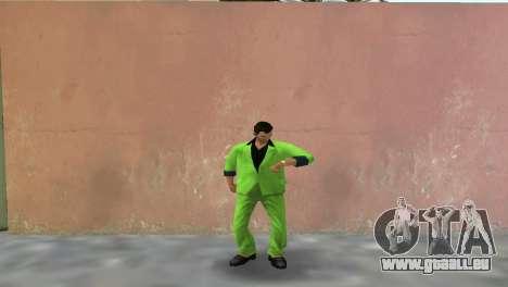 Grünen Anzug von Tommy für GTA Vice City zweiten Screenshot