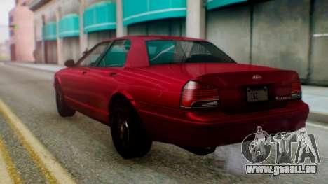 GTA 5 Vapid Stanier II pour GTA San Andreas laissé vue