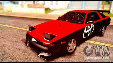 Toyota Supra MK3 Tunable pour GTA San Andreas