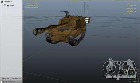 GTA 5 M109 (SAU) Paladin Rad