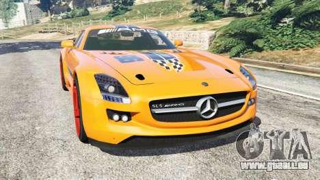 Mercedes-Benz SLS AMG GT3 pour GTA 5