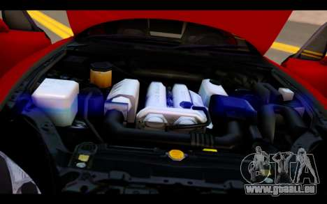 Mazda MX-5 für GTA San Andreas obere Ansicht