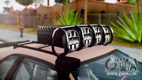 Nissan Skyline GT-R R34 RAID Spec für GTA San Andreas Rückansicht