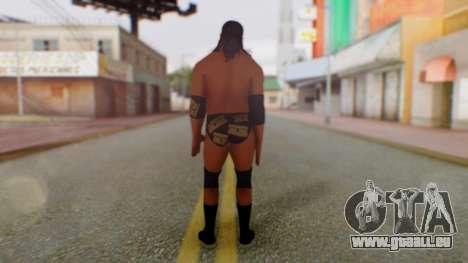 Razor Ramon pour GTA San Andreas troisième écran