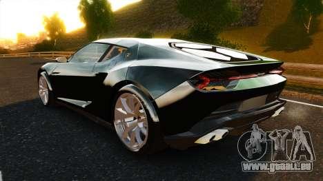 Lamborghini Asterion LP900 pour GTA 4 Vue arrière de la gauche