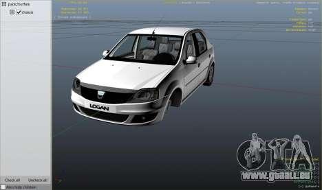2008 Dacia Logan v2.0 FINAL für GTA 5