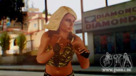 WWE Kaitlyn pour GTA San Andreas