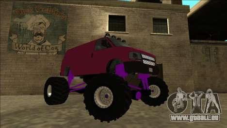 GTA 5 Vapid Speedo Monster Truck für GTA San Andreas rechten Ansicht