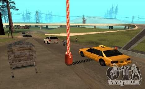 Personnalisé pour GTA San Andreas quatrième écran