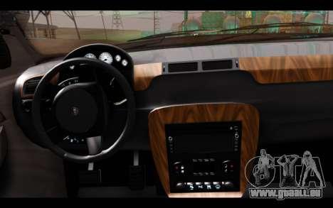 GTA 5 Declasse Sheriff Granger IVF pour GTA San Andreas sur la vue arrière gauche