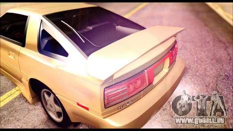 Toyota Supra MK3 Tunable pour GTA San Andreas moteur