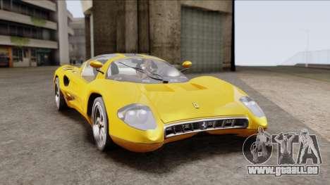 Ferrari P7 Normal pour GTA San Andreas
