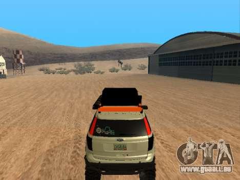 Ford Explorer 2013 Off Road für GTA San Andreas rechten Ansicht