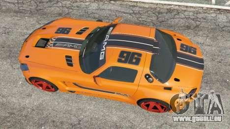 GTA 5 Mercedes-Benz SLS AMG GT3 vue arrière