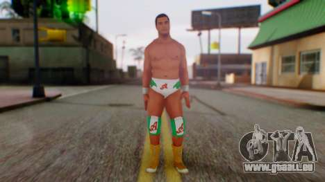 WWE Alberto pour GTA San Andreas deuxième écran