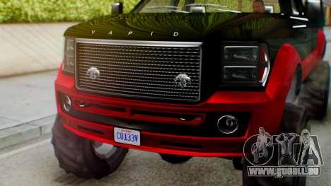 GTA 5 Vapid Sandking SWB IVF für GTA San Andreas rechten Ansicht