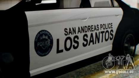 GTA 5 Police LS für GTA San Andreas rechten Ansicht