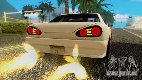 Elegy HellCat pour GTA San Andreas vue de droite