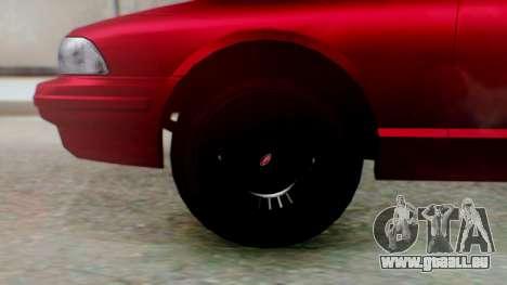 GTA 5 Vapid Stanier II pour GTA San Andreas sur la vue arrière gauche