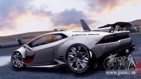 Lamborghini Huracan 2013 Liberty Walk [SHARK] pour GTA San Andreas vue de droite