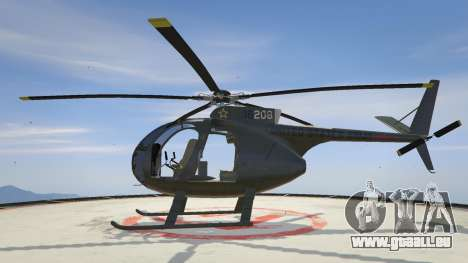 GTA 5 Hughes OH-6 Cayuse zweite Screenshot