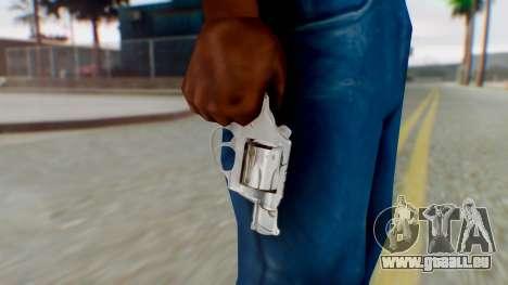 Charter Arms Undercover Revolver für GTA San Andreas dritten Screenshot