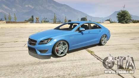 Mercedes-Benz CLS 6.3 AMG 1.1 pour GTA 5