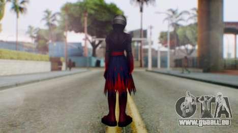 KHBBS - Vanitas Armor für GTA San Andreas dritten Screenshot