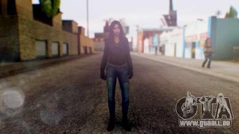 Jessica Jones pour GTA San Andreas deuxième écran
