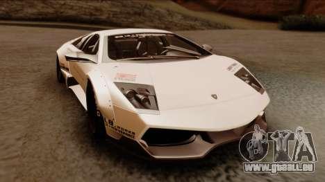 Lamborghini Murcielago LP670-4 SV 2010 pour GTA San Andreas vue de droite