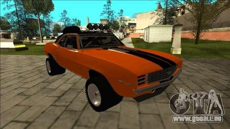 Chevrolet Camaro SS Rusty Rebel für GTA San Andreas Seitenansicht